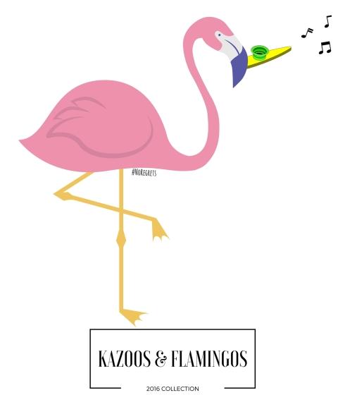 kazoos flamingos